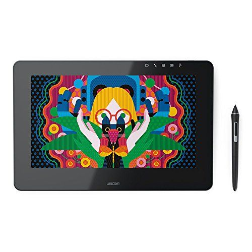 """Wacom DTH1320K0 Cintiq Pro 13"""" Creative Pen Display, HD LCD Graphics Monitor, Dark Gray Enjoy the natural creative experience of working directly on screen Pressure (2048 levels) and tilt sensitive Wacom Pro Pen performs like traditional brushes, pencils and markers Premium, 13.3"""", HD Display (1920 X 1080) with wide viewing angle,get a HDMI to Mini Display Port adapter to connect the DTK1300 to a Macbook Pro https://luxury.boutiquecloset.com/product/wacom-dth1320k0-cintiq-pro"""