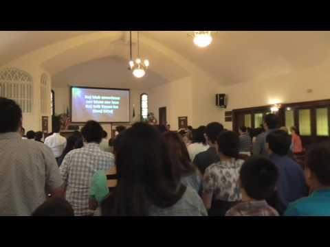 Hmong Christian Reformed Church worship service. - YouTube