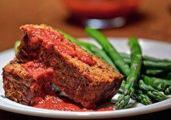 Pain de viande végétarien : L'Anarchie Culinaire selon Bob le Chef (remplacer le lait par une boisson végétale)