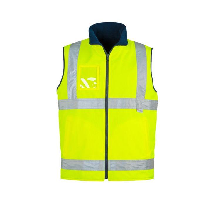 Hi vis lightweight fleece lined vest zv358 in 2020