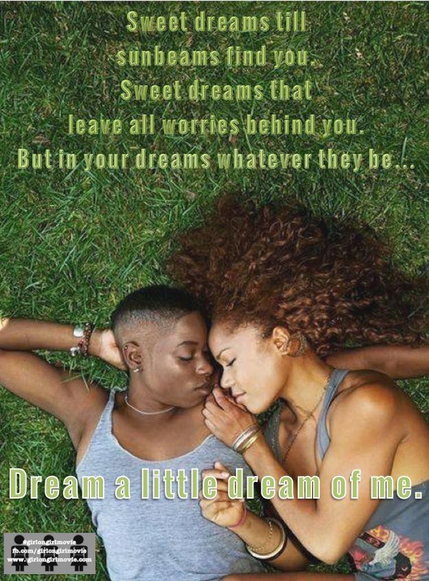Dream a little dream lesbians women who love women