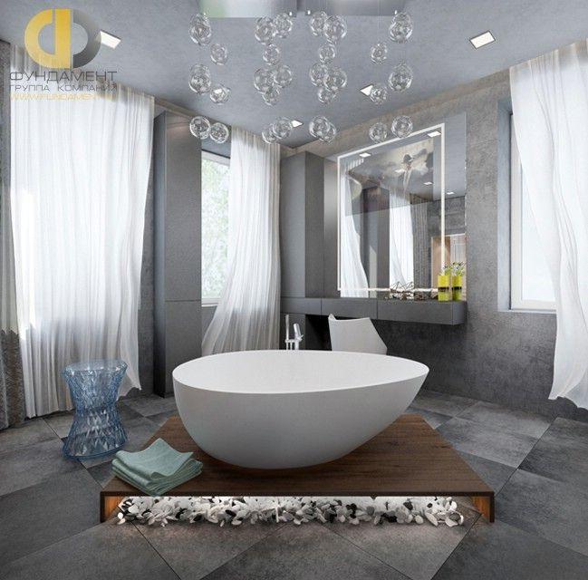 Домашнее СПА с ванной и туалетным столиком