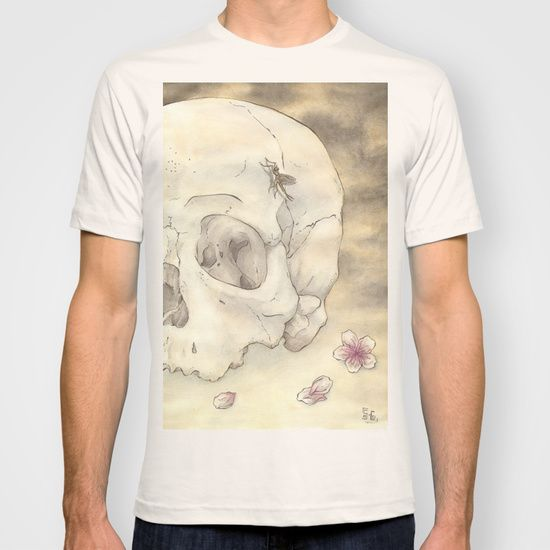 Ephemeral by Samy-Consu,T-SHIRT  with different colors @society6 #society6 #dark #macabre #gothic #goth