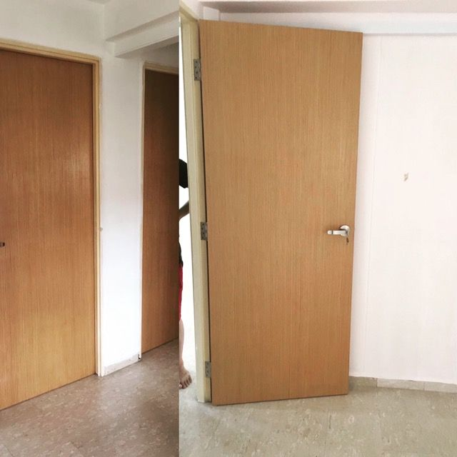 Oak veneer bedroom door at $269  minimum 3 pieces .mydigitallock.com & 25 best Bedroom Door for HDB Solid UV images on Pinterest | Bedroom ...