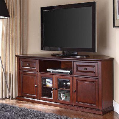 die besten 25 small corner tv stand ideen auf pinterest. Black Bedroom Furniture Sets. Home Design Ideas