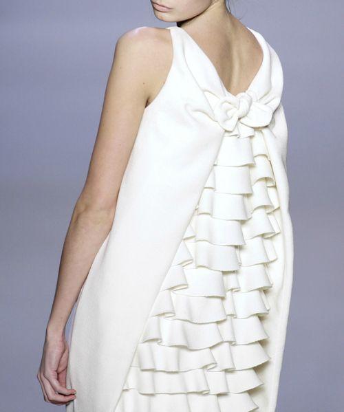 white dress  ZsaZsa Bellagio
