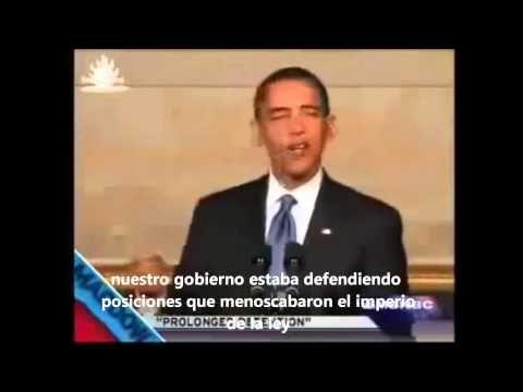 Obama Explica los Campos FEMA -  en Español - Alejandro Concha