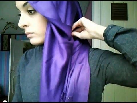 Hijab tutorial - fancy and elegant