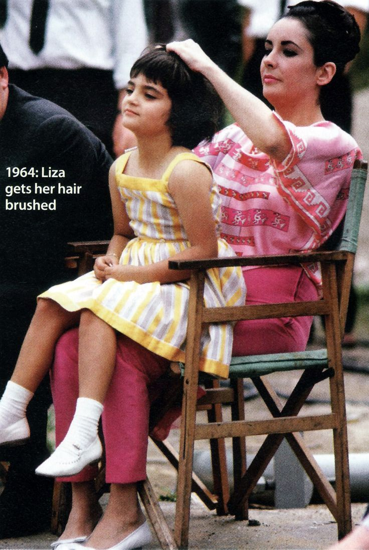 Elizabeth Taylor and daughter Liza Todd