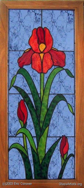 Iris Framed