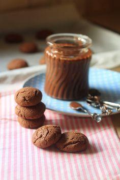 brown sugar: ממרח נוטלה ביתי ועוגיות בצ'יק צ'אק