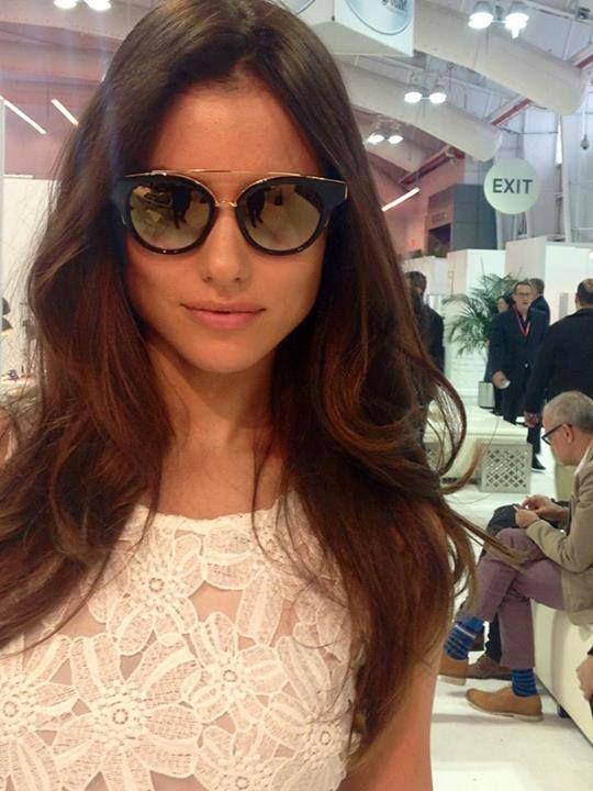 5aafd7e1c1a Joanna Prus in Dita Eyewear