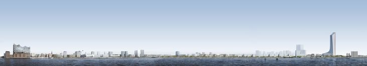 Gallery of David Chipperfield Architects Selected to Design Tallest Tower in Hamburg - 7