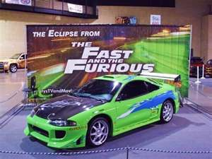 1995 Mitsubishi Eclipse RS 420A from the movie The Fast and the Furious