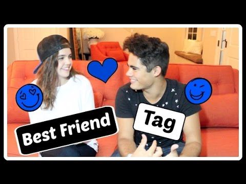 Best Friend Tag w/ Bailee Madison | Emery T. Kelly - YouTube
