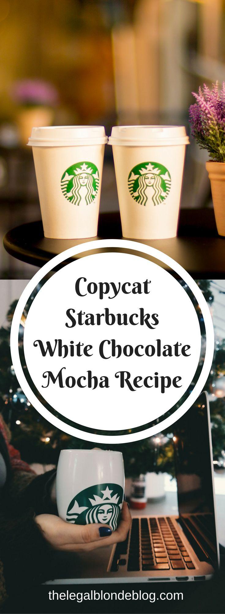 25+ best White chocolate mocha ideas on Pinterest | Starbucks ...