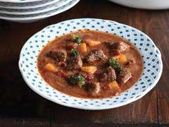 Butternut Squash Beef Stew recipe