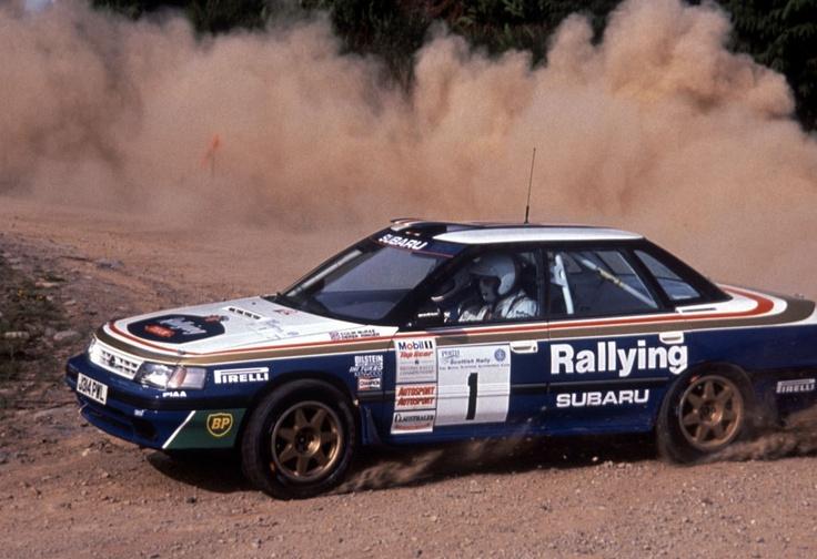 Ex-Colin McRae Subaru Legacy