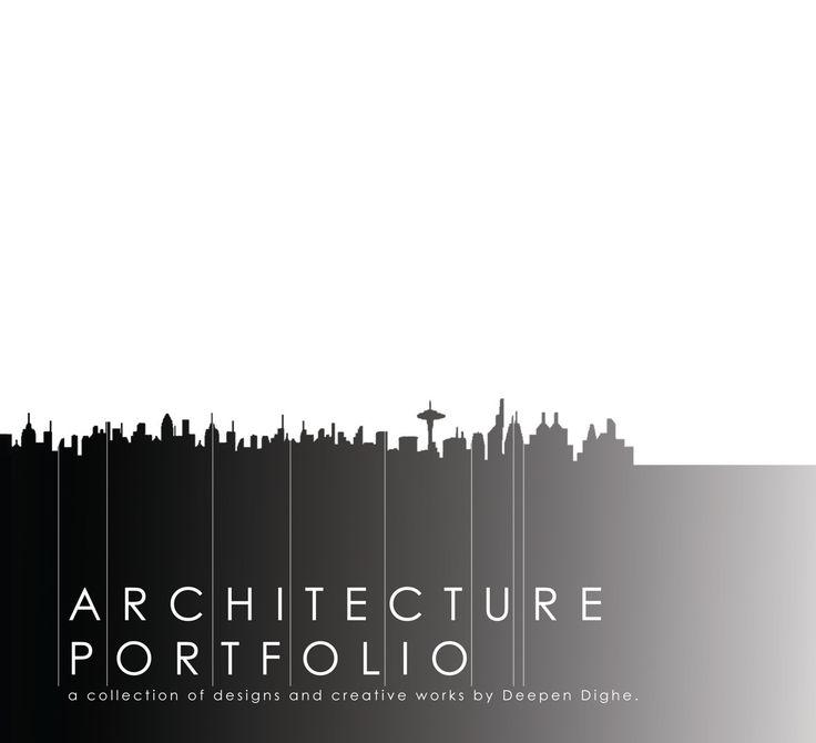 Architecture Graduate Portfolio on Behance