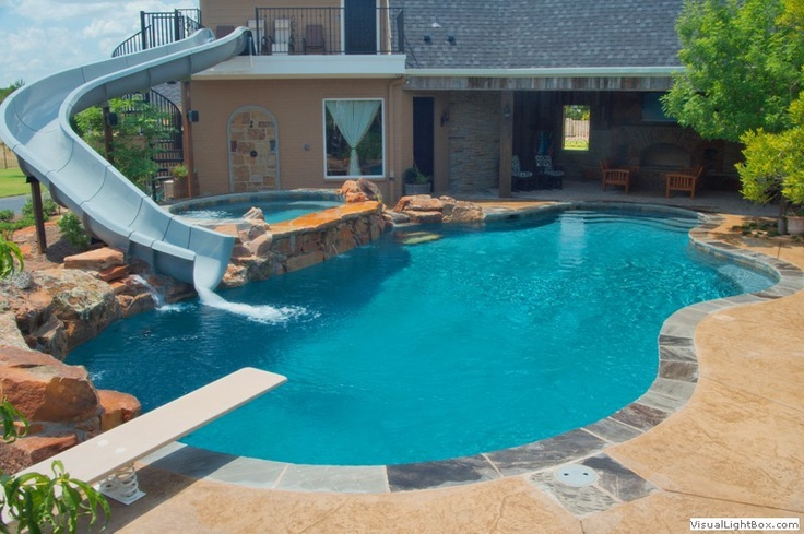 1000 Images About Sweet Backyard Pools On Pinterest