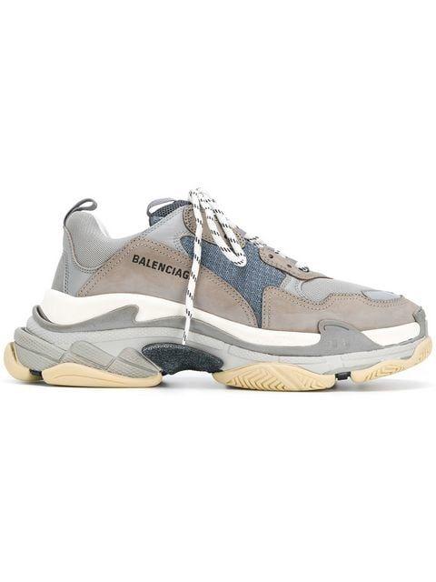 811866ebf00a  895 – BALENCIAGA Triple S sneakers