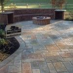 Remarkable Stamped Concrete Patio