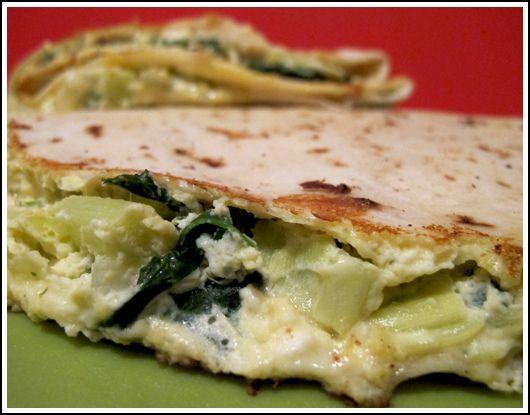 ... Pie Quesadillas. my take on the @BigGirlsSmallKitchen Spinach Pie