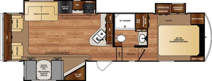 Forest River Wildcat Rv Floor Plans