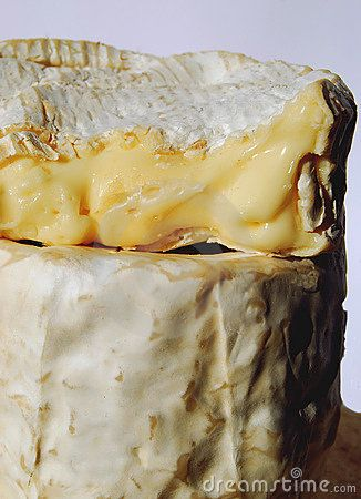 #CHEESE - French Camembert, soft French Cheese.  This one is very old--it is very runny