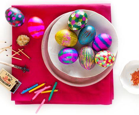 fancy easter egg decoratin'