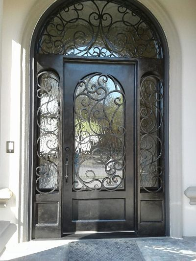 60 Best Images About Wrought Iron Doors On Pinterest