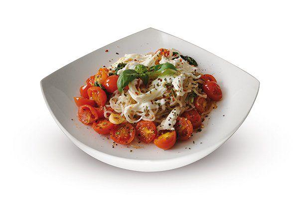 Smart Noodles Caprese s mozzarellou a cherry rajčaty   Svět zdraví - Oficiální stránky
