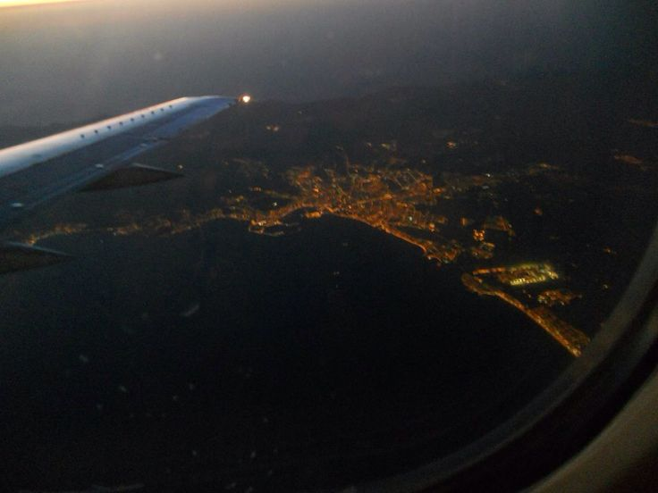 Ibiza from the top...airplane