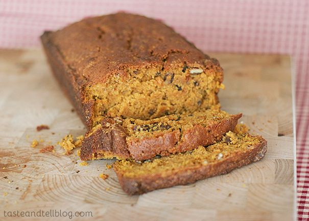 Taste and Tell | May Cookbook of the Month Review and Jodi's Pumpkin-Nut Bread | Taste and Tell
