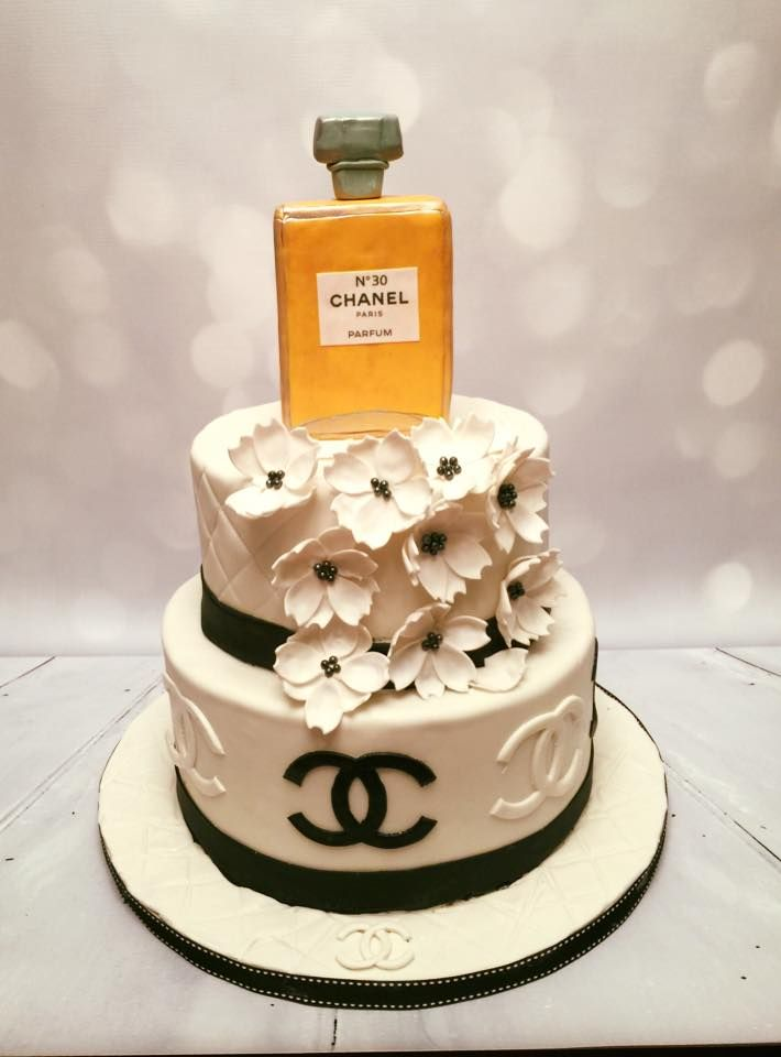 Chanel Cake | Birthday and Celebration Cakes | Chanel cake ...