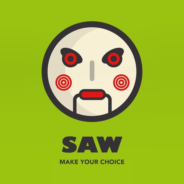 We all love our movies. In the next few days I will post a series of some of my favourite ones, including the title and a quote from the film itself —  I chose a UNIQUE icon for each movie, one that makes - in my opinion - the film worth watching. Keep your eyes peeled for more graphics to come.  Saw - Make your Choice  #saw #design #movies #icons #digitaldesign #uk #london #icondesign #iconaday #visual #graphic #designer #community #film #poster #iconic #artwork #software #fun #funny…