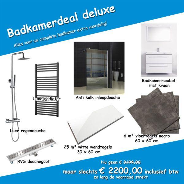 Complete badkamer - Badkamerdeal 2017 | Megadump.nl