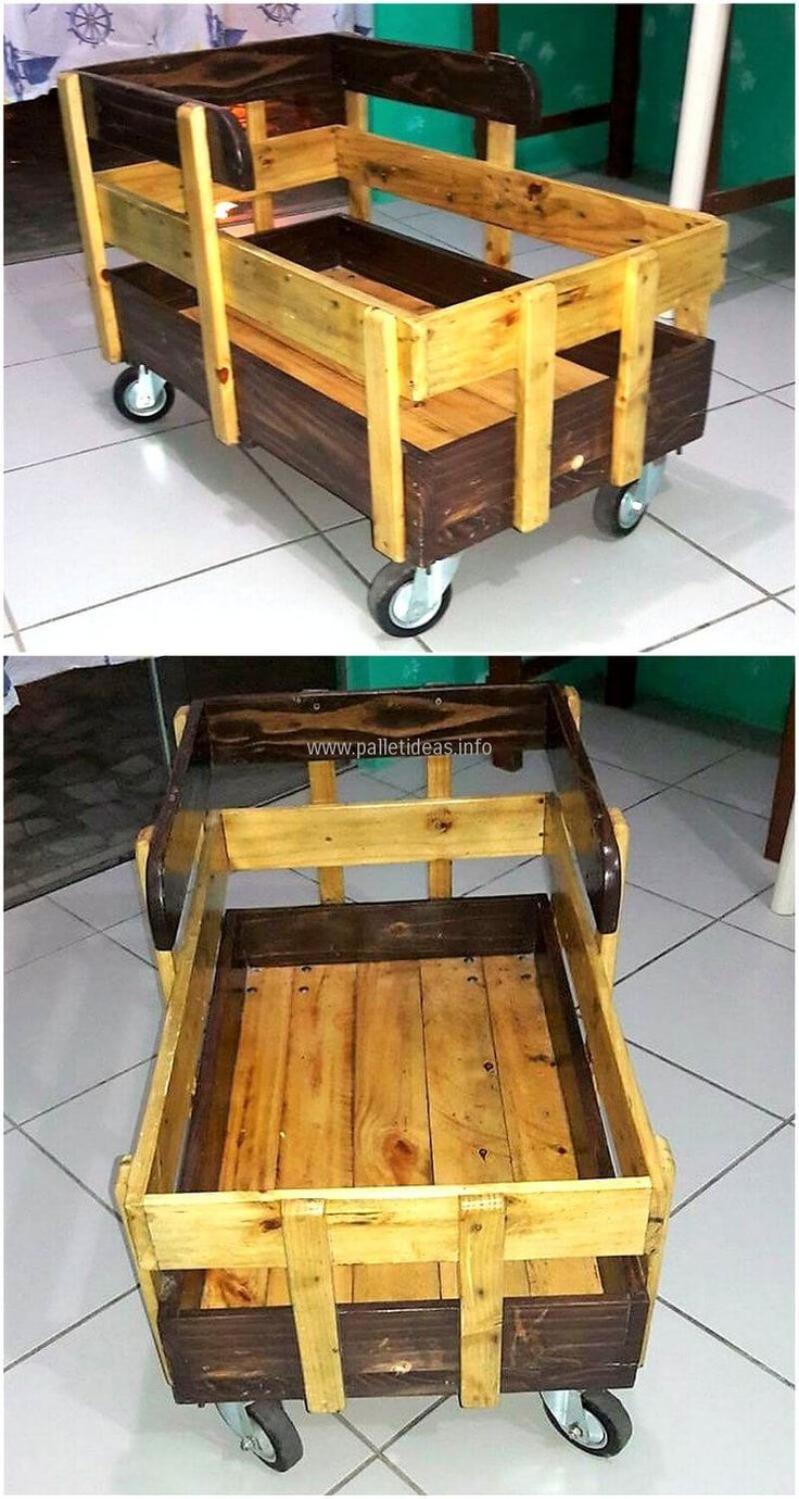 Pallets loading cart for kids is unique idea for your kiddo to place their belongings inside. You can give any favorite color to this loading craft. . You can invite the family members to give ideas in crafting the furniture to turn it to a fun task. What distinguish us from others is we craft furniture that is in regular domestic use of our households.