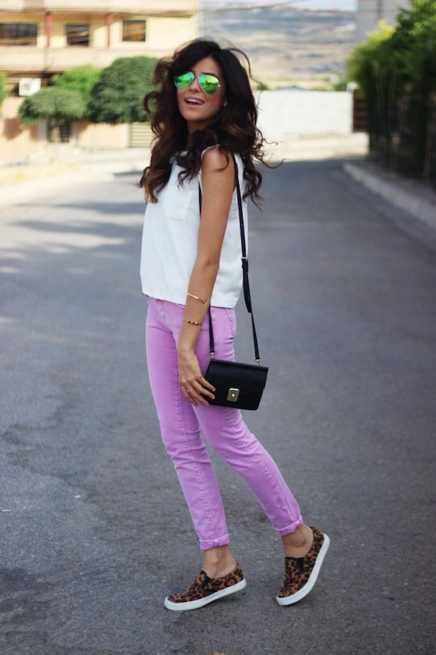 Pastel with leopard