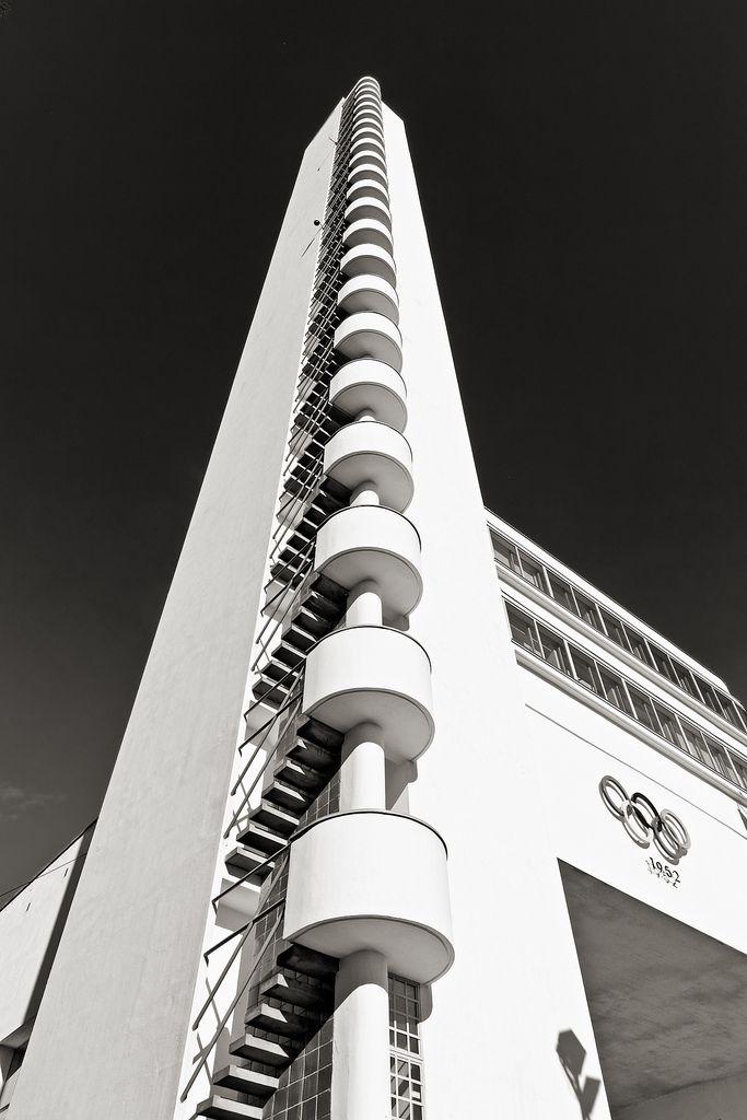 SCANDINAVIAN COLLECTORS – Helsinki Olympic Stadium tower, byYrjö Lindegren…