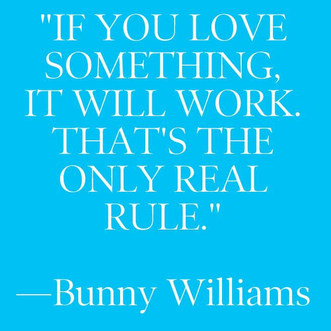 BUNNY WILLIAMS
