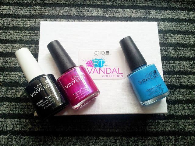 Stars and stellars           : Cnd Vinylux Art Vandal, Spring 2016 collection!