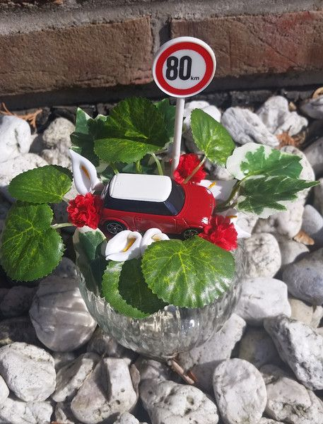 """Geschenke für Frauen - Geldgeschenk, Themenglas """"Führerschein/ Auto"""" - ein Designerstück von My-Sweet-Bambiente bei DaWanda"""