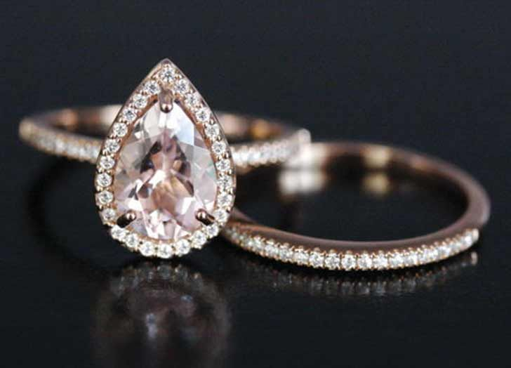 7 nontraditional engagement ring stones that are trending big time - Non Traditional Wedding Rings