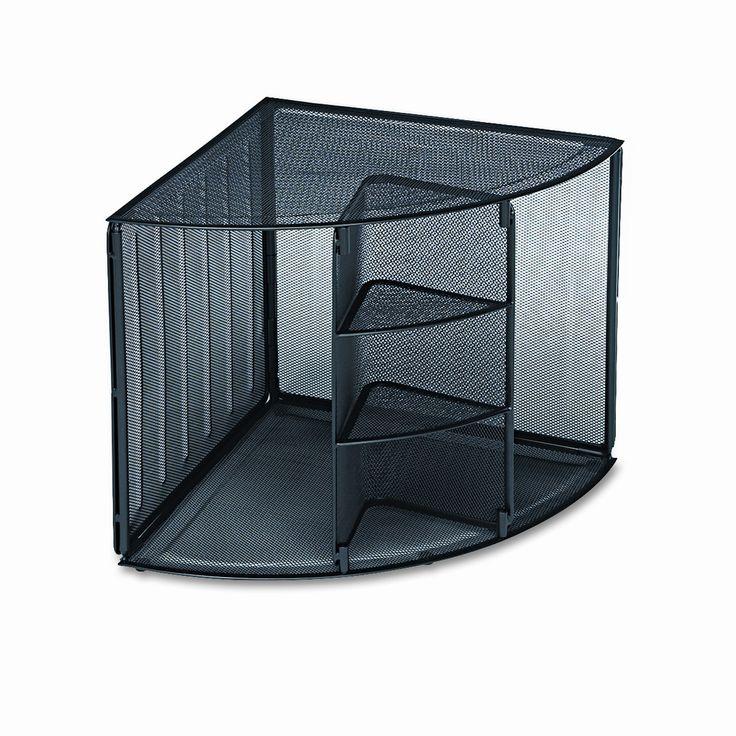 Mesh Corner Desktop Shelf