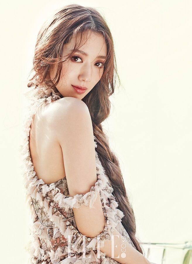 Park Shin Hye for Elle Korea July 2016. Photographed by Shin Sun Hye