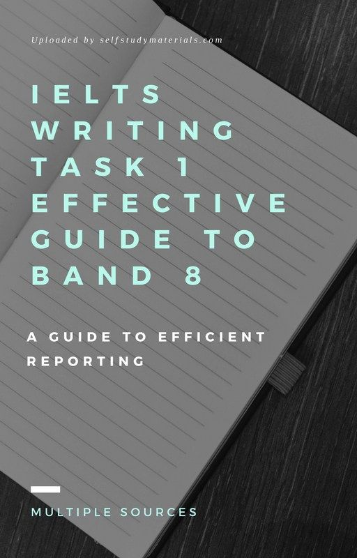 IELTS Writing Task 1 Effective Guide to Band 8 PDF