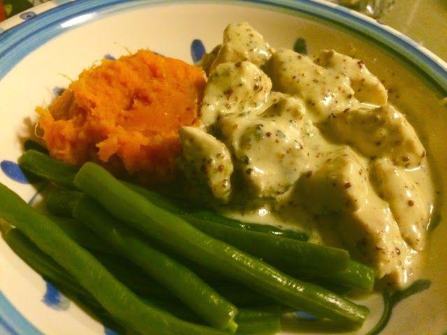 Kris' Kitchen: The Culinary Journey of Koko B.: Creamy Mustard Chicken