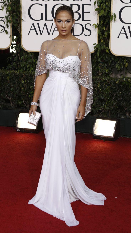 white dress jennifer lopez