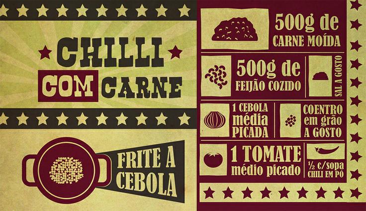RECEITA-ILUSTRADA 116: Chili com carne: http://mixidao.com.br/receita-ilustrada-116-chili-com-carne/